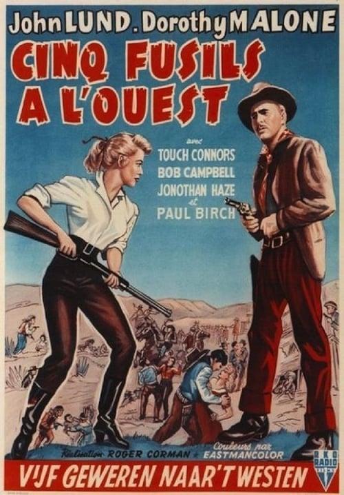 Five Guns West - Movie Poster