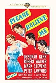 Please Believe Me - Movie Poster