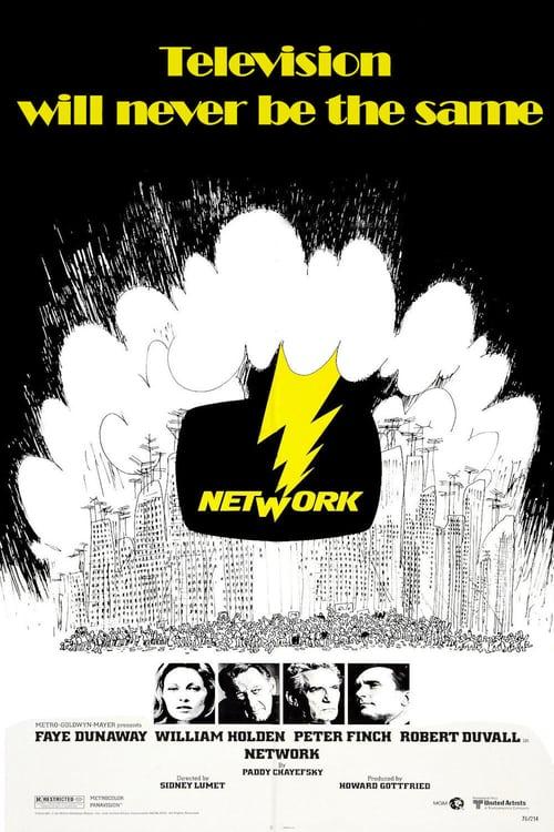 Network - Movie Poster