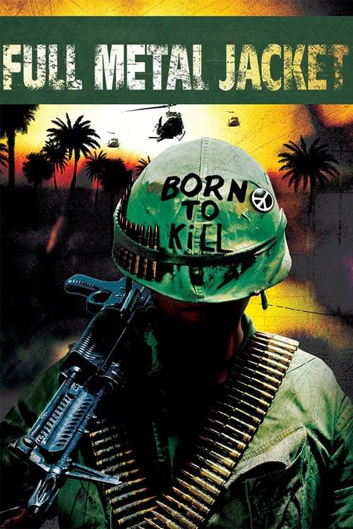 Full Metal Jacket - Movie Poster