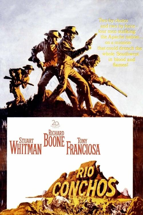 Rio Conchos - Movie Poster