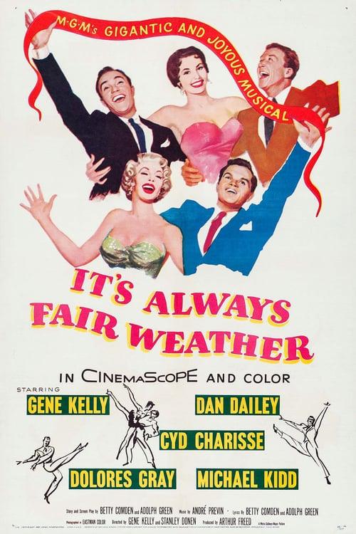 It's Always Fair Weather - Movie Poster