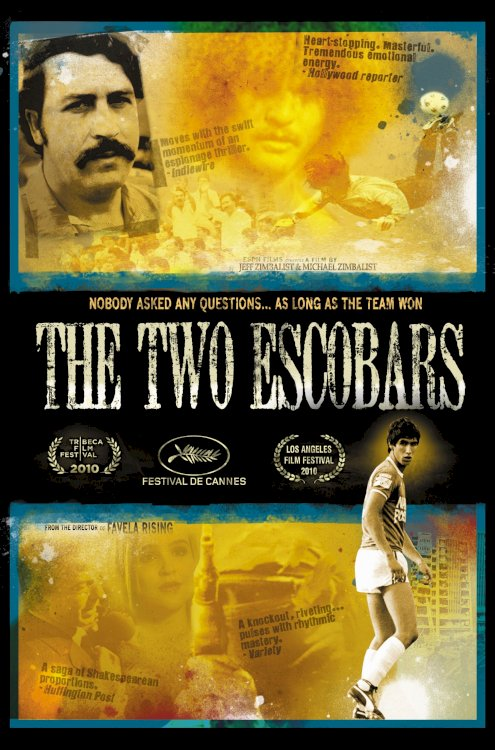 The Two Escobars - Movie Poster