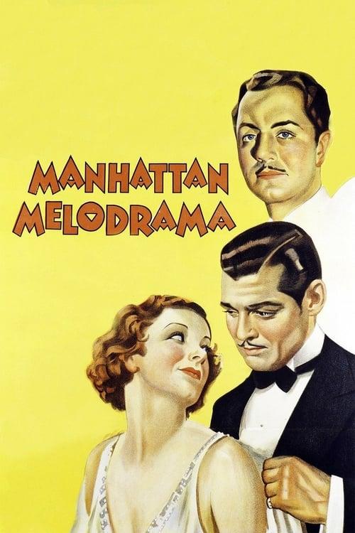 Manhattan Melodrama - Movie Poster