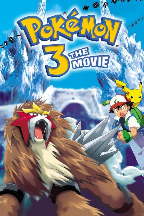 Pokémon 3: The Movie - Spell of the Unown - Movie Poster