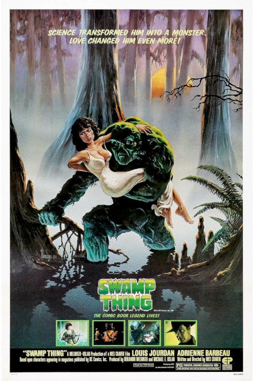 Swamp Thing - Movie Poster