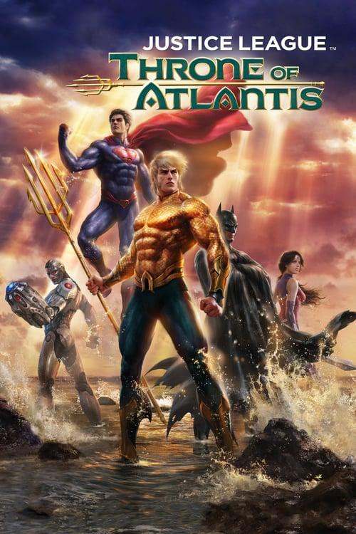 Justice League: Throne of Atlantis - Movie Poster