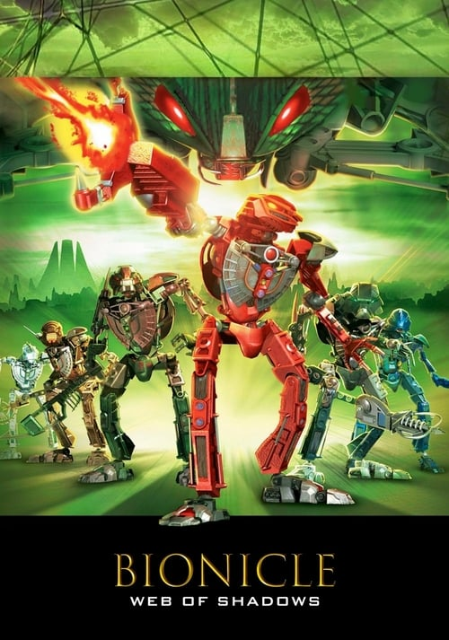 BIONICLE 3: Web of Shadows - Movie Poster