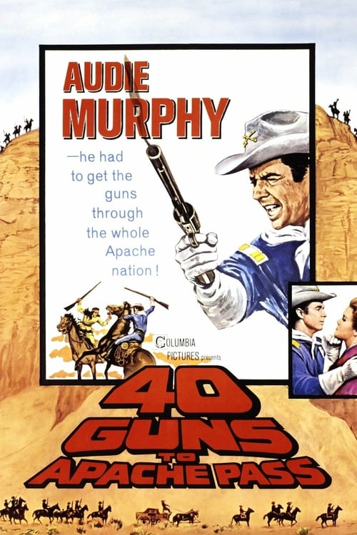40 Guns to Apache Pass - Movie Poster