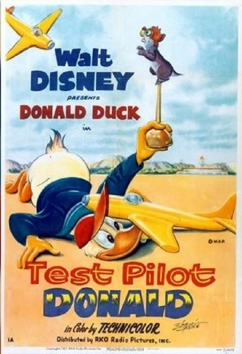 Test Pilot Donald - Movie Poster