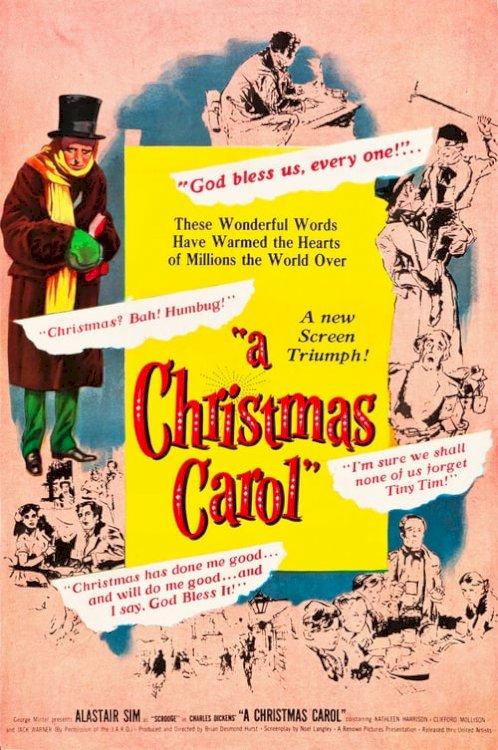 Scrooge - Movie Poster