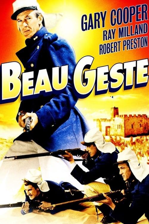 Beau Geste - Movie Poster