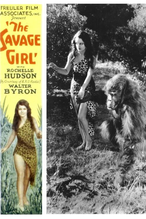 The Savage Girl - Movie Poster