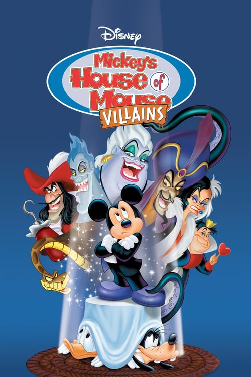 Mickey's House of Villains - Movie Poster