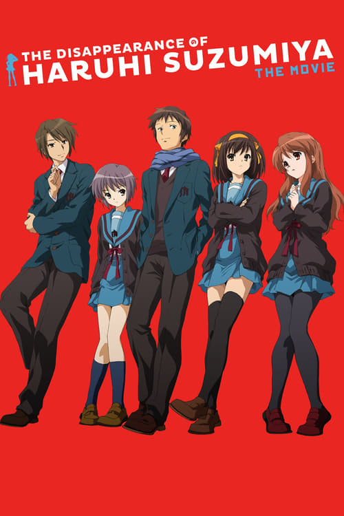 The Disappearance of Haruhi Suzumiya - Movie Poster