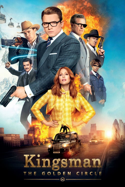Kingsman: The Golden Circle - Movie Poster