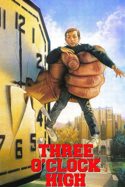 Three O'Clock High - Movie Poster