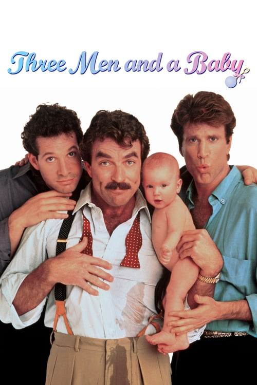 3 Men and a Baby - Movie Poster