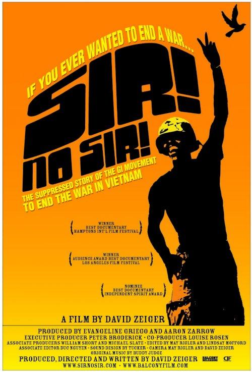 Sir! No Sir! - Movie Poster
