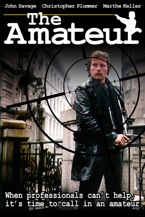 The Amateur - Movie Poster