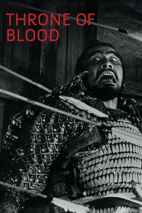 Throne of Blood - Movie Poster