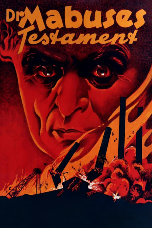 The Testament of Dr. Mabuse - Movie Poster