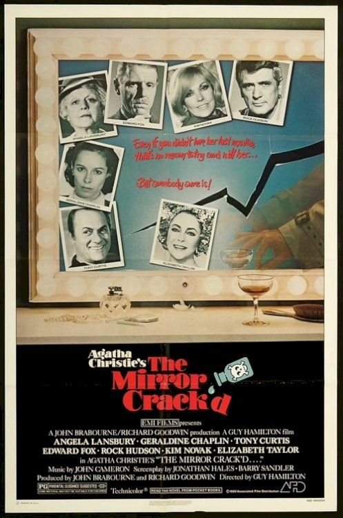 The Mirror Crack'd - Movie Poster