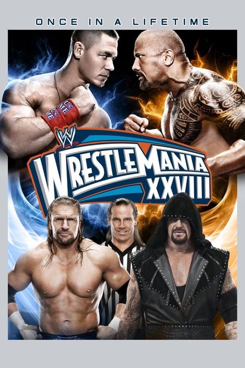 WWE WrestleMania XXVIII - Movie Poster