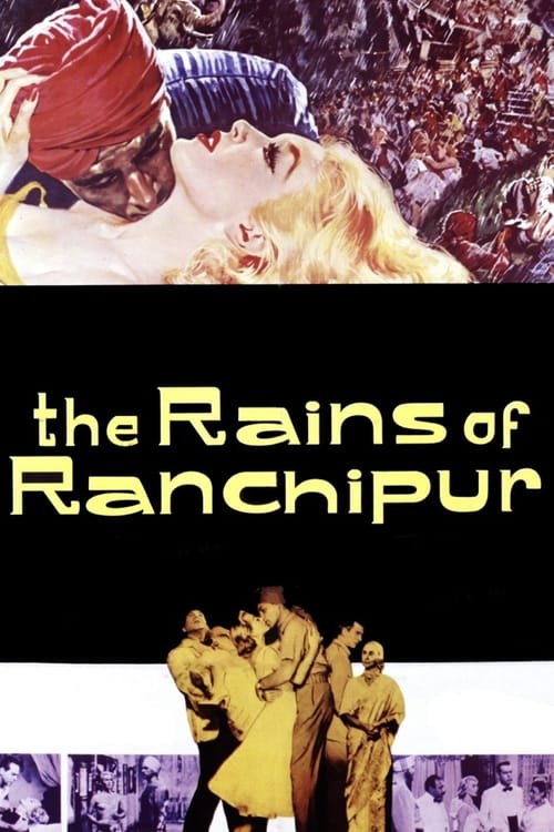 The Rains of Ranchipur - Movie Poster