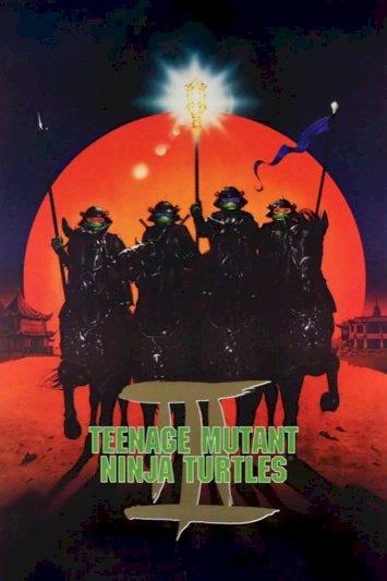 Teenage Mutant Ninja Turtles III - Movie Poster