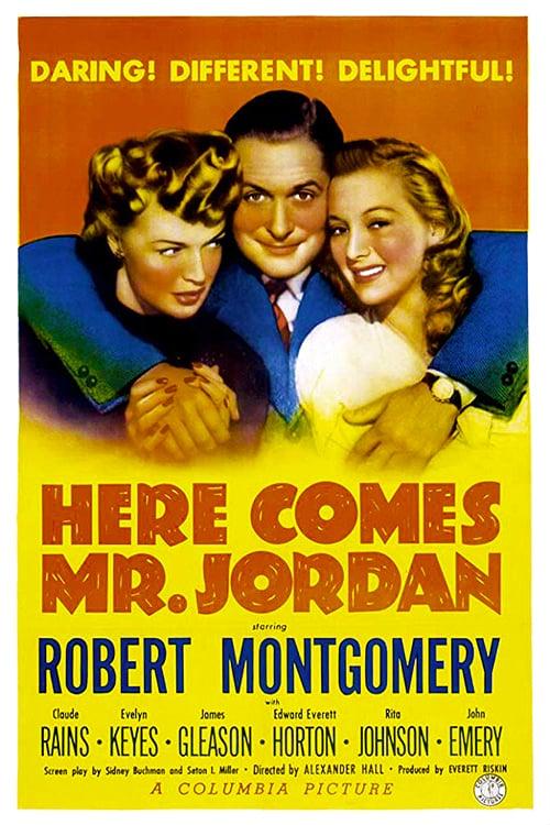 Here Comes Mr. Jordan - Movie Poster