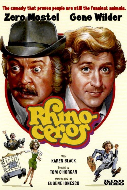 Rhinoceros - Movie Poster
