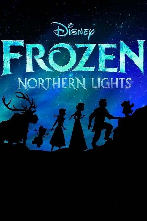 LEGO Frozen Northern Lights - Movie Poster