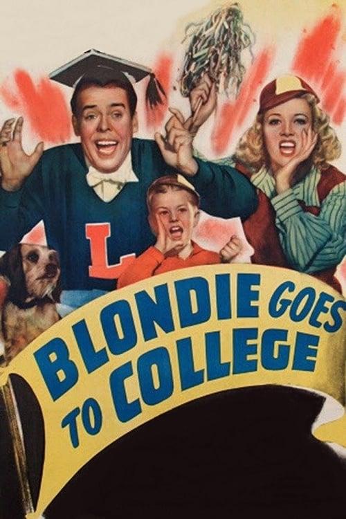 Blondie Goes to College - Movie Poster