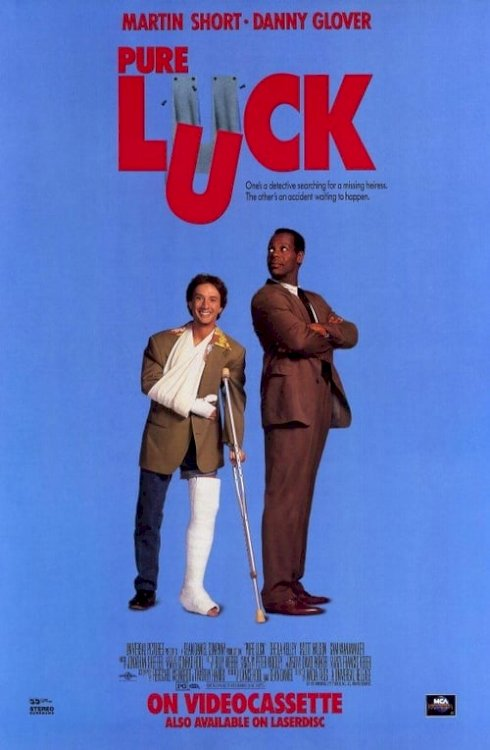 Pure Luck - Movie Poster