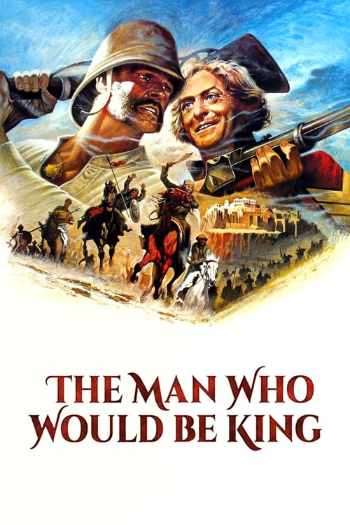 The Man Who Would Be King - Movie Poster