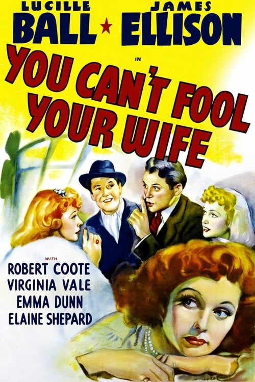 You Can't Fool Your Wife - Movie Poster