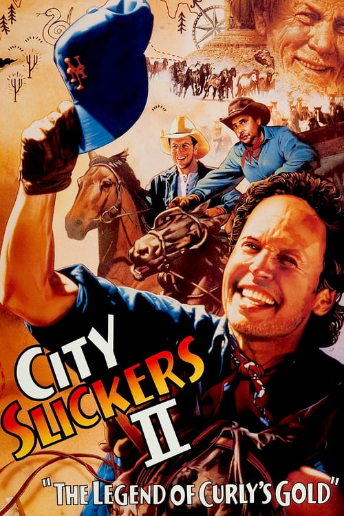 City Slickers II: The Legend of Curly's Gold - Movie Poster