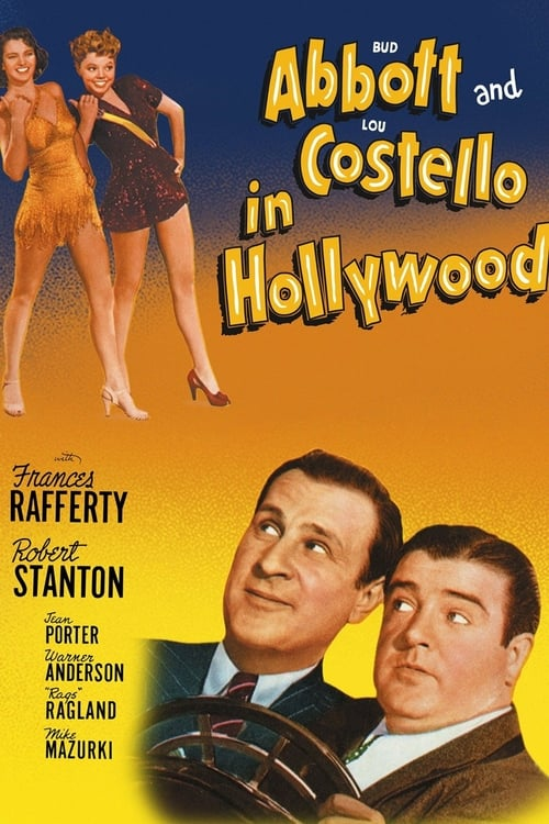 Bud Abbott and Lou Costello in Hollywood - Movie Poster