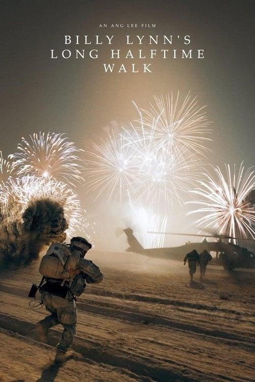 Billy Lynn's Long Halftime Walk - Movie Poster
