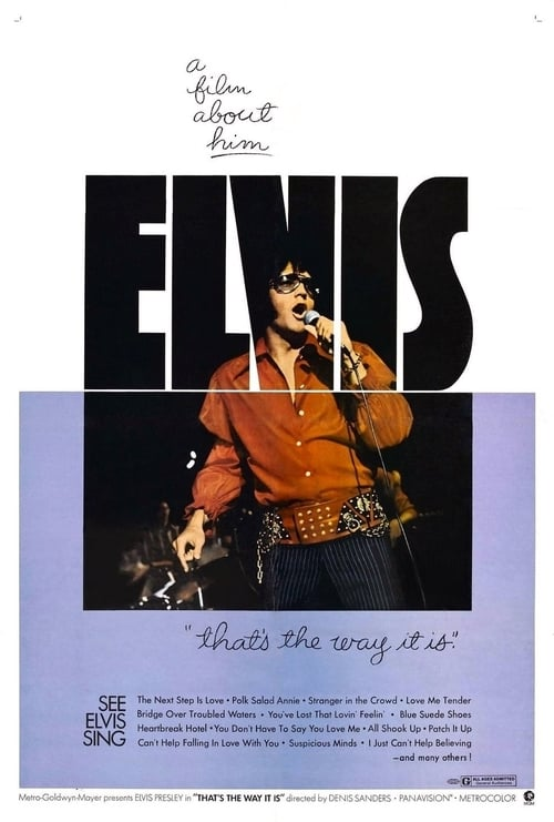 Elvis: That's the Way It Is - Movie Poster