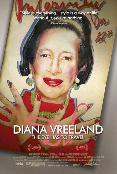Diana Vreeland: The Eye Has to Travel - Movie Poster