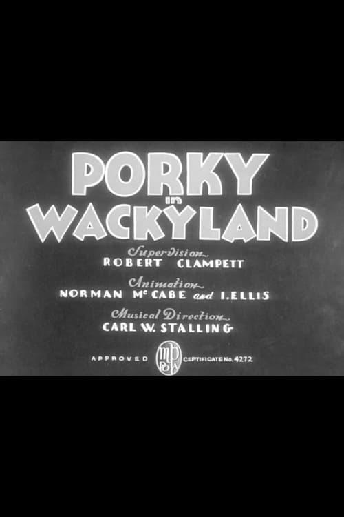 Porky in Wackyland - Movie Poster