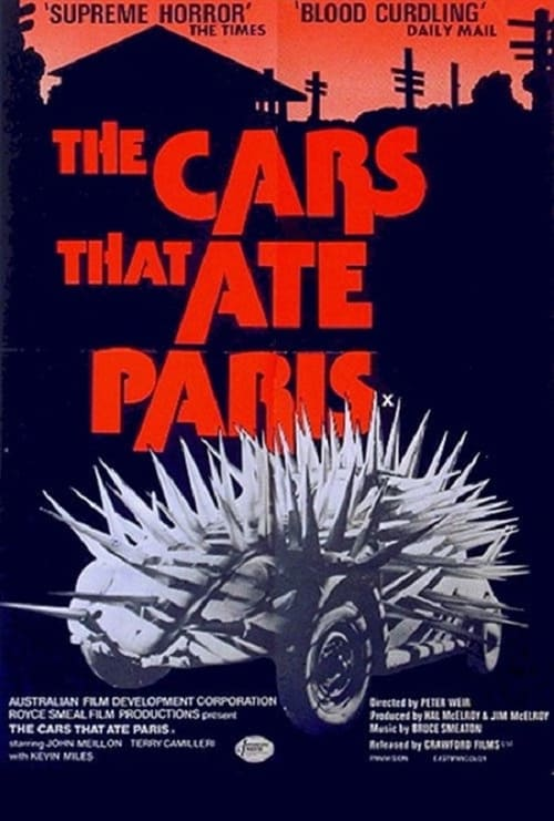 The Cars That Ate Paris - Movie Poster