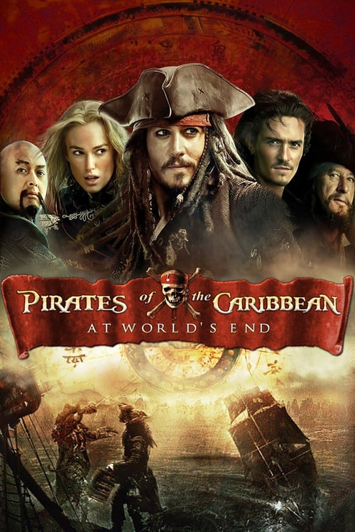Pirates of the Caribbean: At World's End - Movie Poster