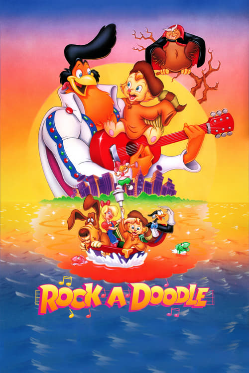 Rock-A-Doodle - Movie Poster