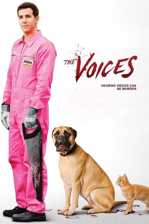The Voices - Movie Poster
