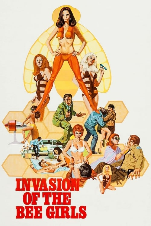 Invasion of the Bee Girls - Movie Poster