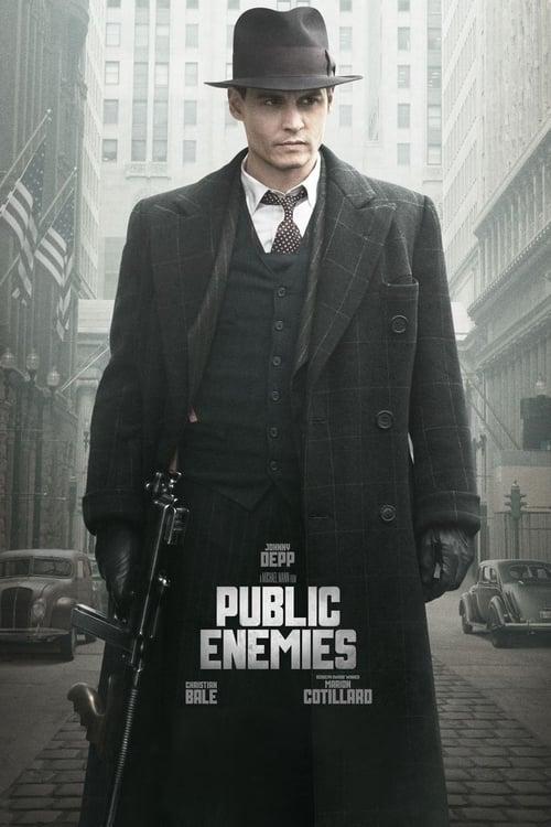 Public Enemies - Movie Poster