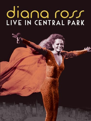 Diana Ross: Live in Central Park - Movie Poster